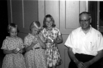 Jennifer, Laurie & Kathryn Lavis -'66 when Dad left Central.jpg