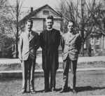 L to R - Ted Hiltz, Rev. McCormick, Bill Hiltz.JPG